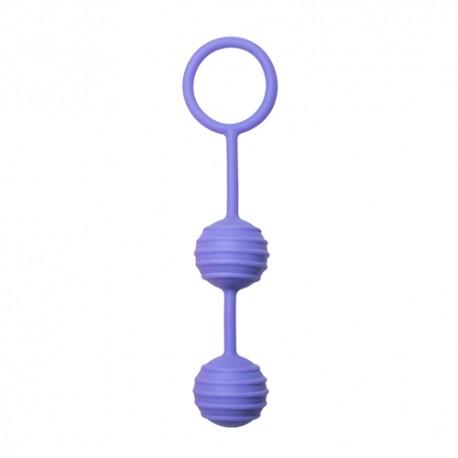 Liebeskugeln mit Riffeln - Violett
