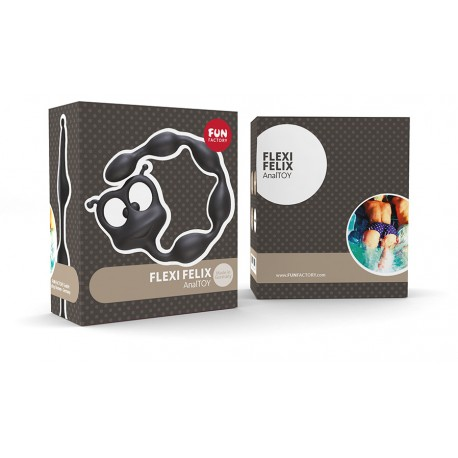 FLEXI FELIX Fun Factory - BLACK