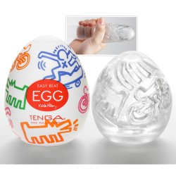 Tenga Egg Masturbator Street Keith Haring
